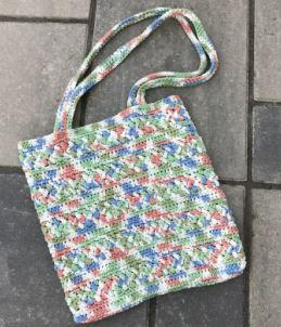 Easy and Colorful Crochet Bag Pattern