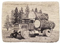 1934 Sterling Log Hauling Truck