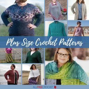 Plus Size Crochet Patterns | AllFreeCrochet.com