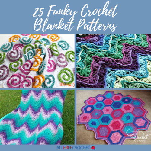 25 Funky Crochet Blanket Patterns