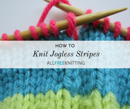 How to Knit Jogless Stripes