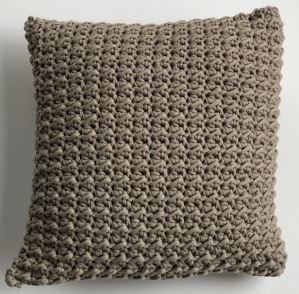 Quick Crochet Pillow Pattern