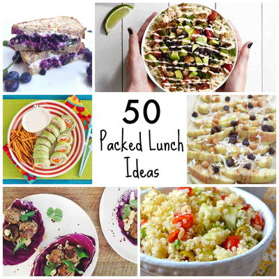 50 Packed Lunch Ideas