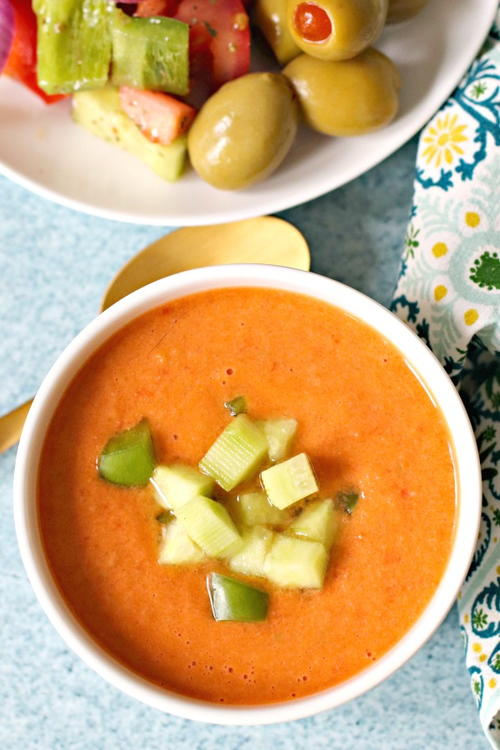 Spanish Gazpacho (Classic Recipe)