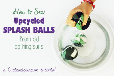 Sew Splash Balls from Bathing Suits