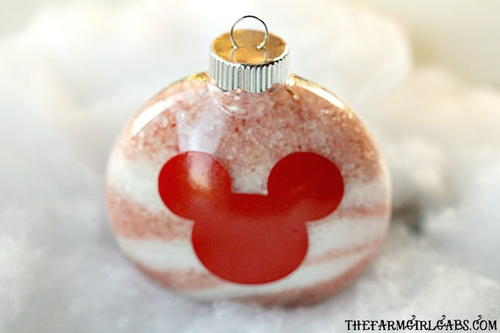 Disney Bath Salt Ornaments