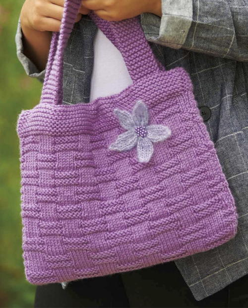 Flower Basket Bag