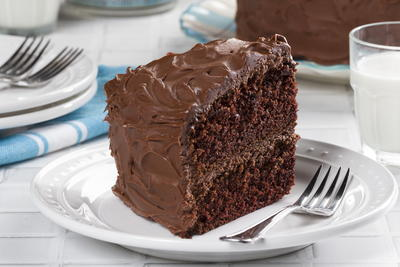 Double Chocolate Layer Cake