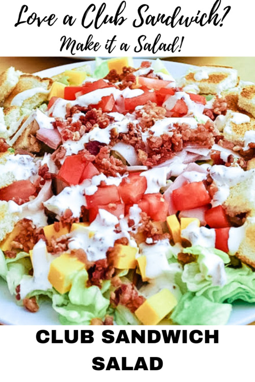 Club Sandwich Salad
