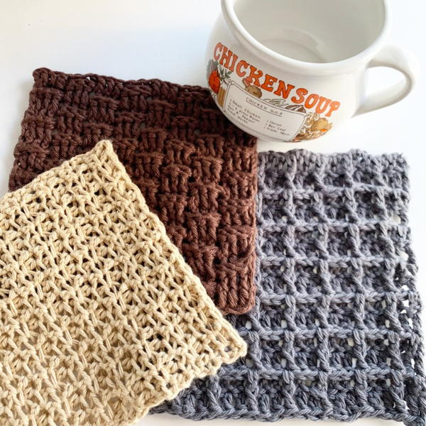 Dishcloth Sampler