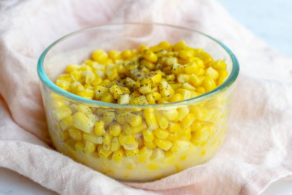 Cooked Canned Corn