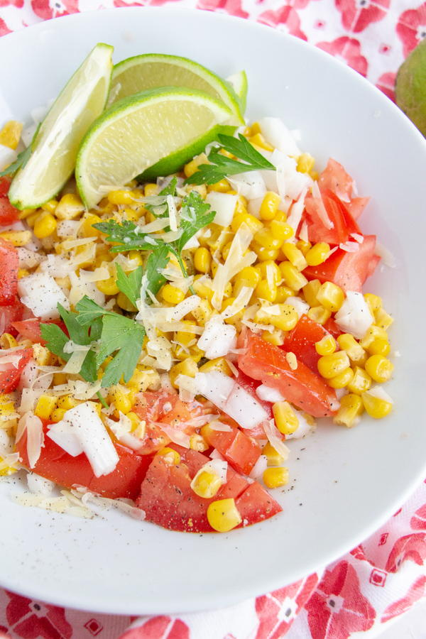 Cold Canned Corn Salad