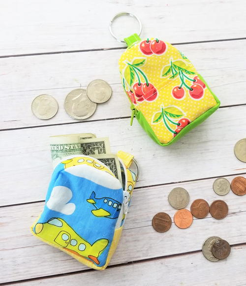 Mini Backpack Coin Pouch