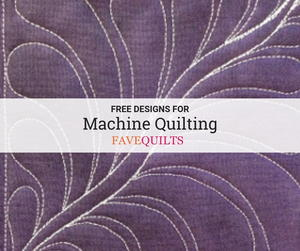 30+ Free Quilting Designs for Machine Quilting