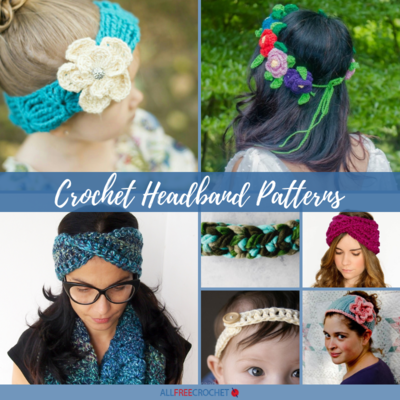 70 Crochet Headband Patterns