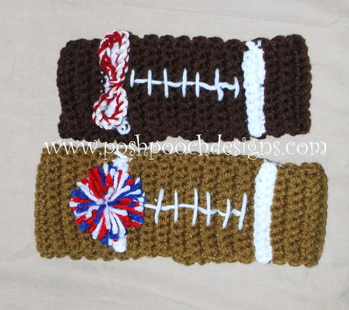 Football Headband Ear Warmer