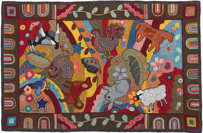 Crazy Horse Quilt II, Celebration XXIV