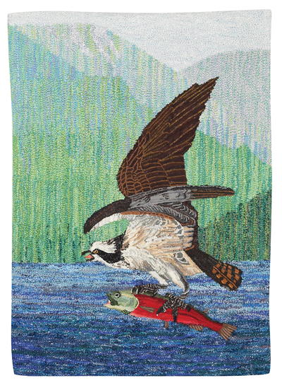 Osprey with Kokanee, Celebration XVIII