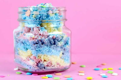 Unicorn Bath Powder Recipe