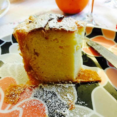 Semolina Ricotta Cheese and Coconut Cake