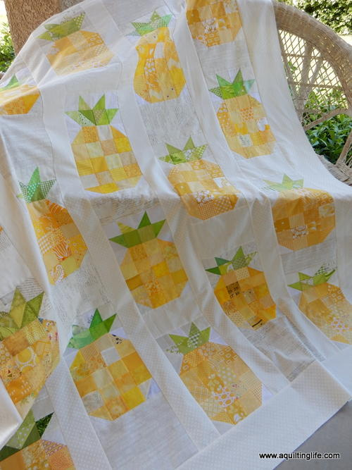 Pineapple Quilt Top