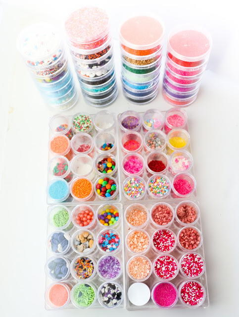 DIY Sprinkle Storage