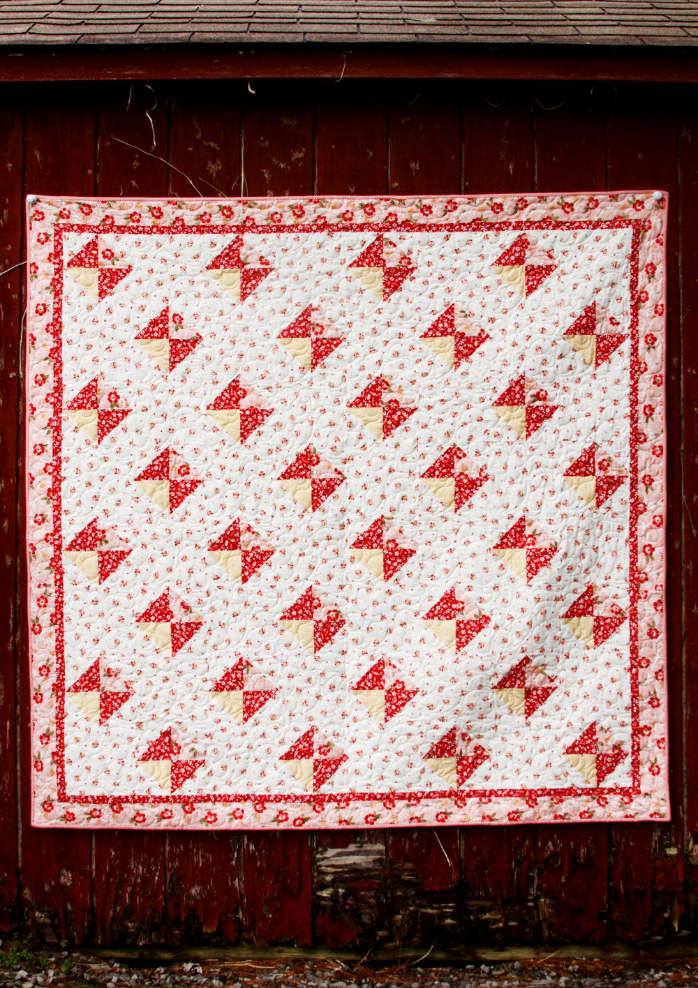 Spring Diamonds Quilt Pattern Favequilts Com