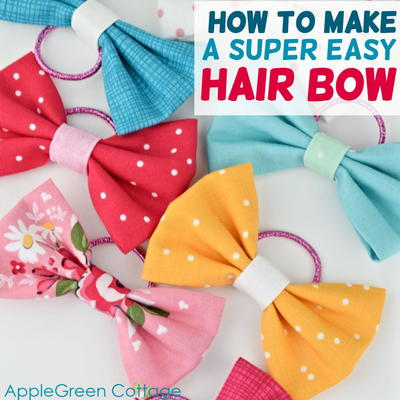 Chic and Easy Diy Hair Bows