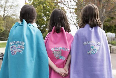 No-Sew DIY Superhero Capes