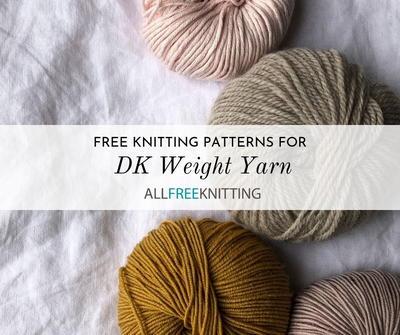 free knitting patterns using double knit wool