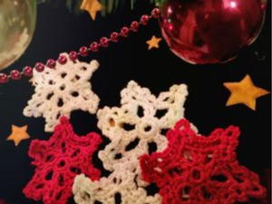 Crochet Snowflake Easy