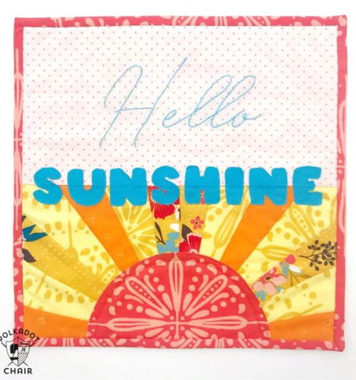Hello Sunshine Quilt Pattern