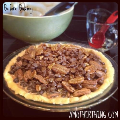 Gluten Free Chocolate Pecan Pie