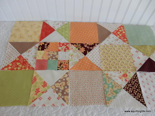 Scrappy Quilt Sew Along Pattern