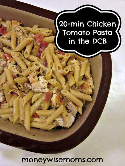 30-Minute Chicken Tomato Pasta