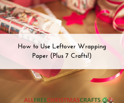 How to Use Leftover Wrapping Paper