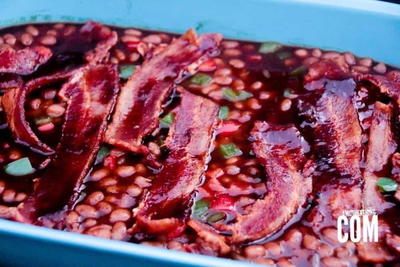 Bbq Baked Beans with Thick-Cut Bacon