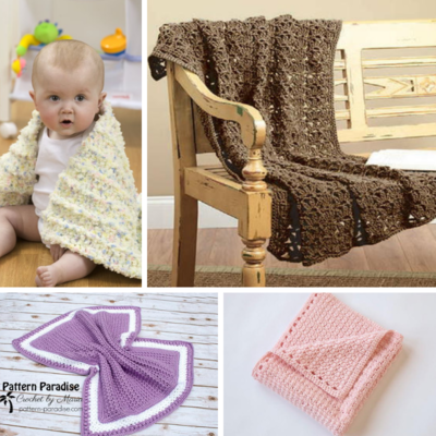 Solid Bulky Weight Baby Blanket Patterns