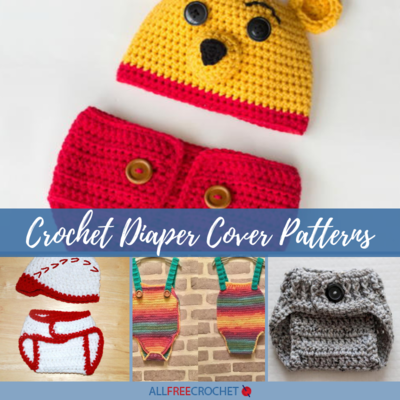 91be61cae 16 Crochet Diaper Cover Patterns | AllFreeCrochet.com