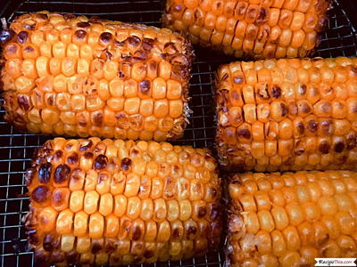 Air Fryer Frozen Corn On The Cob