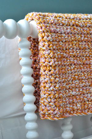 Easy Baby Afghan Tutorial