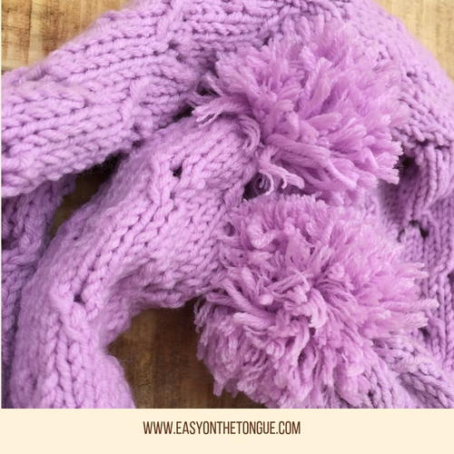Special Free Lacy Scarf Knit Pattern