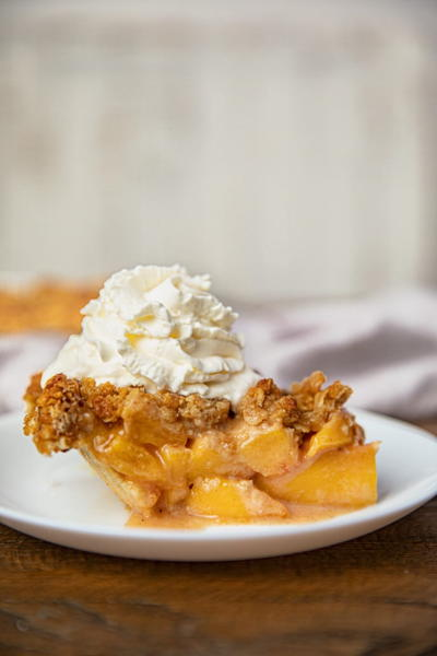Ultimate Peach Crumb Pie