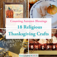 Counting Autumn Blessings: 18 Religious Thanksgiving Crafts