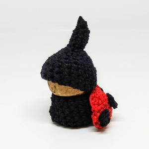 Ladybug Gnome Using Recylced Cork