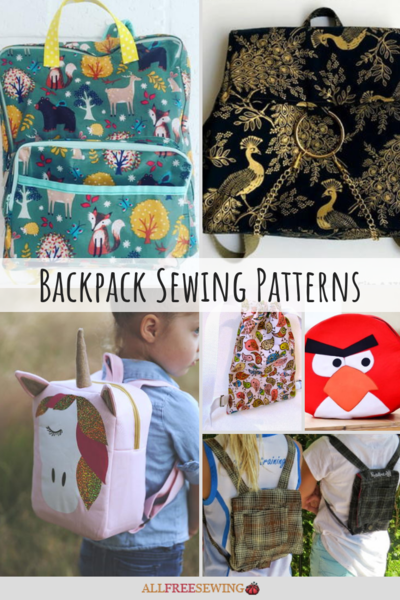 19 Backpack Sewing Patterns