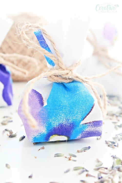 How to make Lavender Bags
