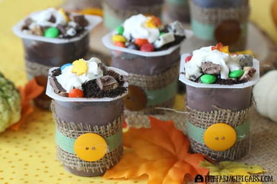 Candy Shop Pudding Cups
