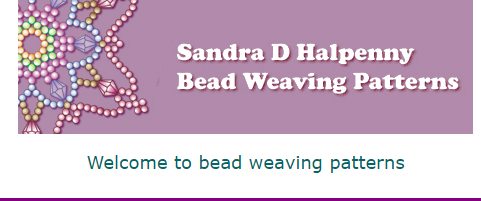 Sandra D. Halpenny Bead Weaving Patterns