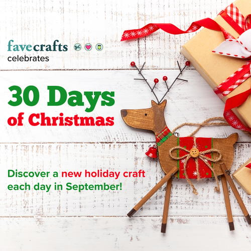 Days To Christmas.30 Days Of Christmas 2019 Favecrafts Com